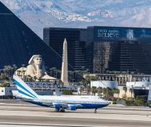 Increased air travel and gambling wins for Las Vegas